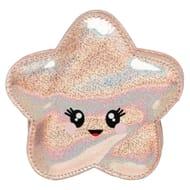 WHSmith Sparkle Pop Holographic Starfish Purse