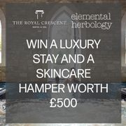 WIN a Luxury stay at the ROYAL CRESCENT HOTEL & Skincare Hamper worth £200