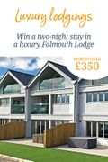 Win a Two-Night Stay in a Luxury Falmouth Lodge, worth over £350!