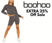 Boohoo - up to 80% off Sale + EXTRA 25% Off
