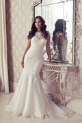 Suzanne Neville Pagani Wedding Dress