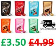AMAZON #1 Best Seller. Lindt Lindor Chocolate Truffles Box, FREE PRIME DELIVERY