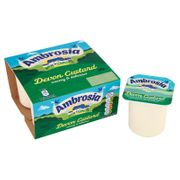 Cheap Ambrosia Devon Custard 4 X 125g at B&M