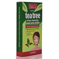 Beauty Formulas Australian Tea Tree Deep Cleansing Nose Pore Strips BEA109