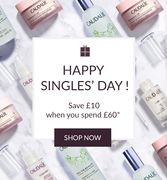 SINGLES DAY: Save £10 When You Spend £60
