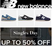 Special Offer - NEW BALANCE TRAINERS - up to 50% off TODAY!