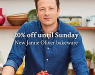 20% off New Jamie Oliver Bakeware Range.