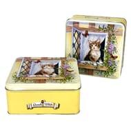 Grandma Wild's Embossed Kitten Biscuit Tins X2 £6 @Yankee Bundles