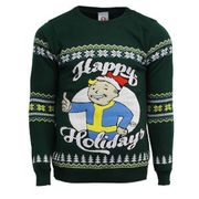 Cheap Fallout Happy Holidays Knitted Christmas Jumper - Only £5!