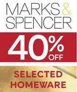 M&S Homewares Sale - 40% OFF