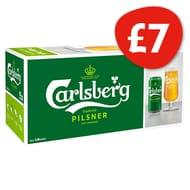 Carlsberg Pilsner 10X440ml Down From £10 to £7