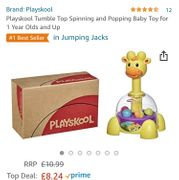Up to 25% off Selected Playskool Brand Toys