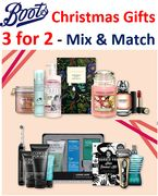 Special Offer - Boots 3-for-2 Christmas Gifts - MIX & MATCH