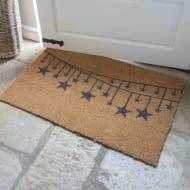 Star Bunting Doormat