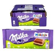 22 X Milka Milkinis Chocolate 100g Bars