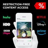 Watch US Netflix! 6 Year AtlasVPN £37.40 / 52p a Month
