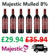 Love Mulled Wine? - Buy 6, Save £6, + FREE DELIVERY