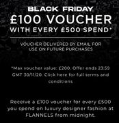 £100 Voucher with Every £500 Spend