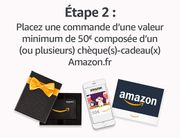Buy a 50 Euros Gift Card and Get 6 Euros Free
