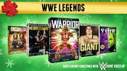 WIN This Christmas WWE Legends Prize Bundle!