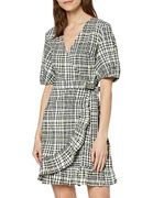 Misprice? Women's Mini Cotton Wrap Dress - Size 18 - Only £2.93!