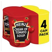 Heinz Classic Cream Tomato Soup, 400g (Pack of 4)