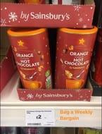 Orange Hot Chocolate for £2