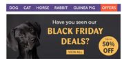 Pages Of Black Friday Deals For Pet Owners