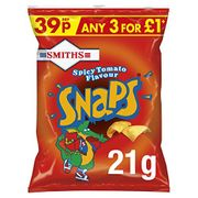 BEST EVER PRICE Smiths Snaps Spicy Tomato Snacks, 21 G (Pack of 30)