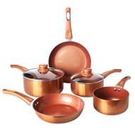 7 Piece Copper Pan Set