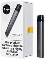 Logic Compact, Vape Device Only, Slate Grey (No Logic Capsules/ No Nicotine)