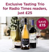 Exclusive Wine Tasting Trio and Online Event.