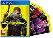 CHEAP! Cyberpunk 2077 + 3 Night City Postcards (PS4) (Exclusive to Amazon)