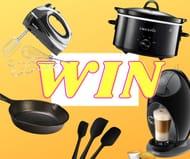 Win Mega Kitchen Appliance Prize Bundle with Latest Deals