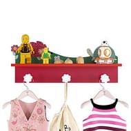 Kids Coat Hanger Shelf