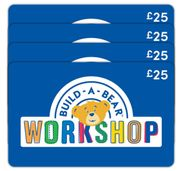 £100 BUILD-a-BEAR Gift E-Card Multipack - Only £63.99!