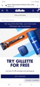Free Gillette Shave Kit ONLY PAY P&p 3.95