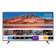 "Samsung Galaxy 2020 50"" TU7110 Crystal UHD 4K HDR Smart TV, Black £399 at Amazon"