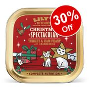 Lilys Kitchen Turkey & Ham Feast with Cranberries - 30% Off!