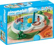 Playmobil 9422 Family Fun Swimming Pool with Shower