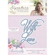 Sara Davies Signature Collection Butterfly Lullaby - with Love Die