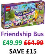 Cheapest Price! LEGO FRIENDS Friendship Bus with Pool! (41395) + FREE DELIVERY