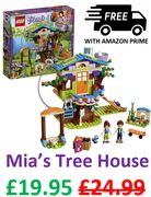 LEGO FRIENDS - Mias Tree House (41335) **4.8 STARS**