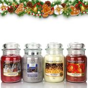 4 X Official Yankee Candle Classic Large Jars