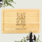 Personalised Wooden Chopping Board. Bargain Thoughtful Gift