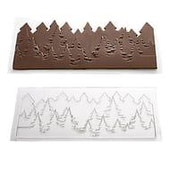 Pine Trees Skyline Chocolate Mould (27 X 13cm)