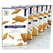 6 X Jules Destrooper Finest Belgian Assorted Selection 75g Boxes