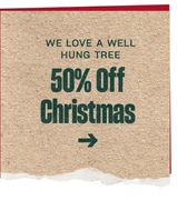 50% off Christmas at Typo