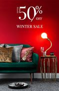 Winter Sale Now on up to 50% Off