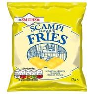 30 under 30 Smiths Scampi Flavour Fries 27g